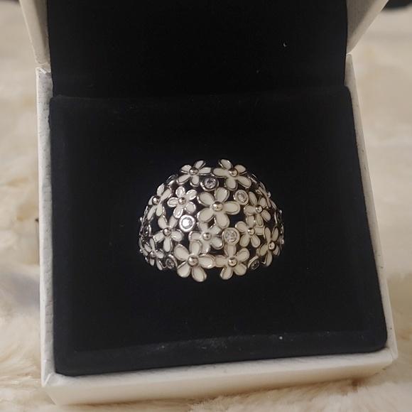 7ad75e6a2 Pandora Jewelry | Darling Daisy Bouquet Ring Size 85 | Poshmark
